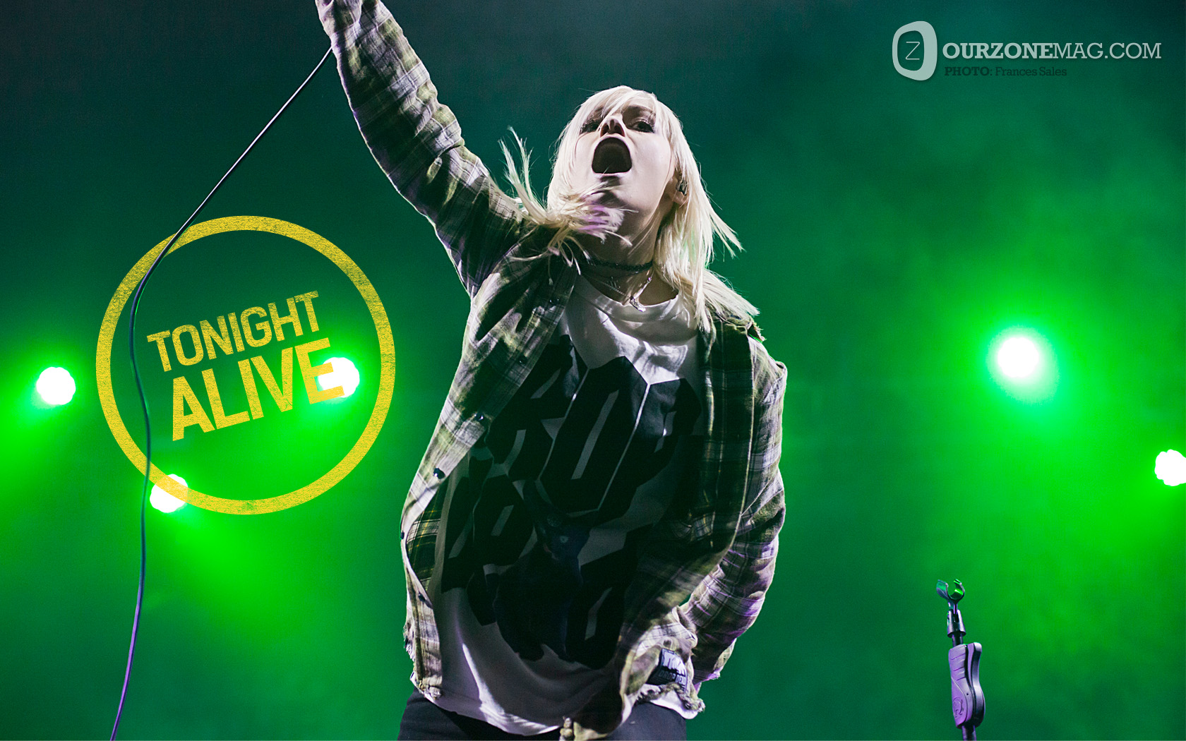 FREE DOWNLOAD Tonight Alive Wallpaper Ourzone Magazine 1680x1050