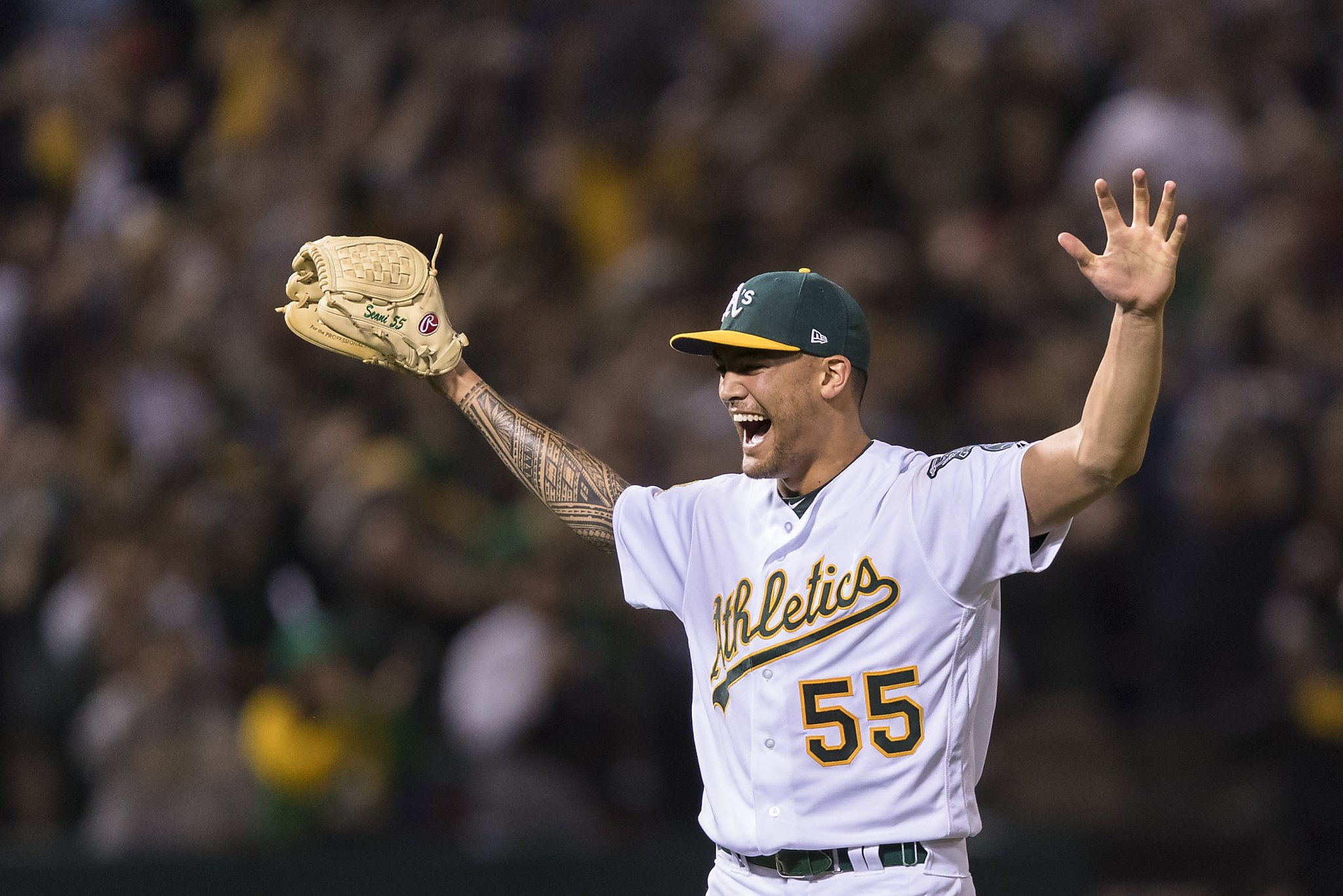 As Sean Manaea gets AL weekly honors after no hitter   SFGate 2048x1366