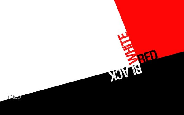 black red and white wallpaper by IMdotMS 600x375