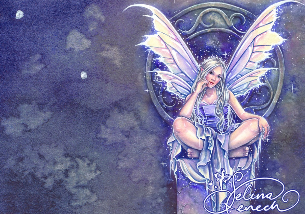 74 Fairy Fantasy Wallpaper On Wallpapersafari