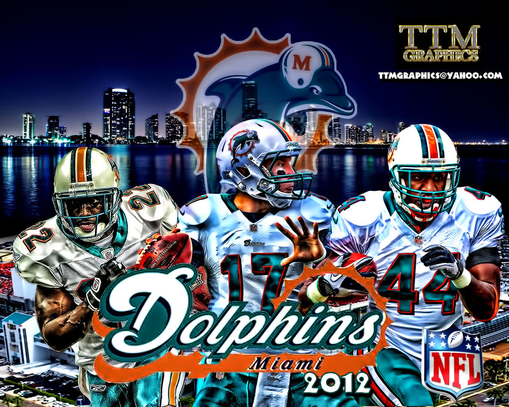 Miami Dolphins desktop wallpaper Miami Dolphins wallpapers 1024x819