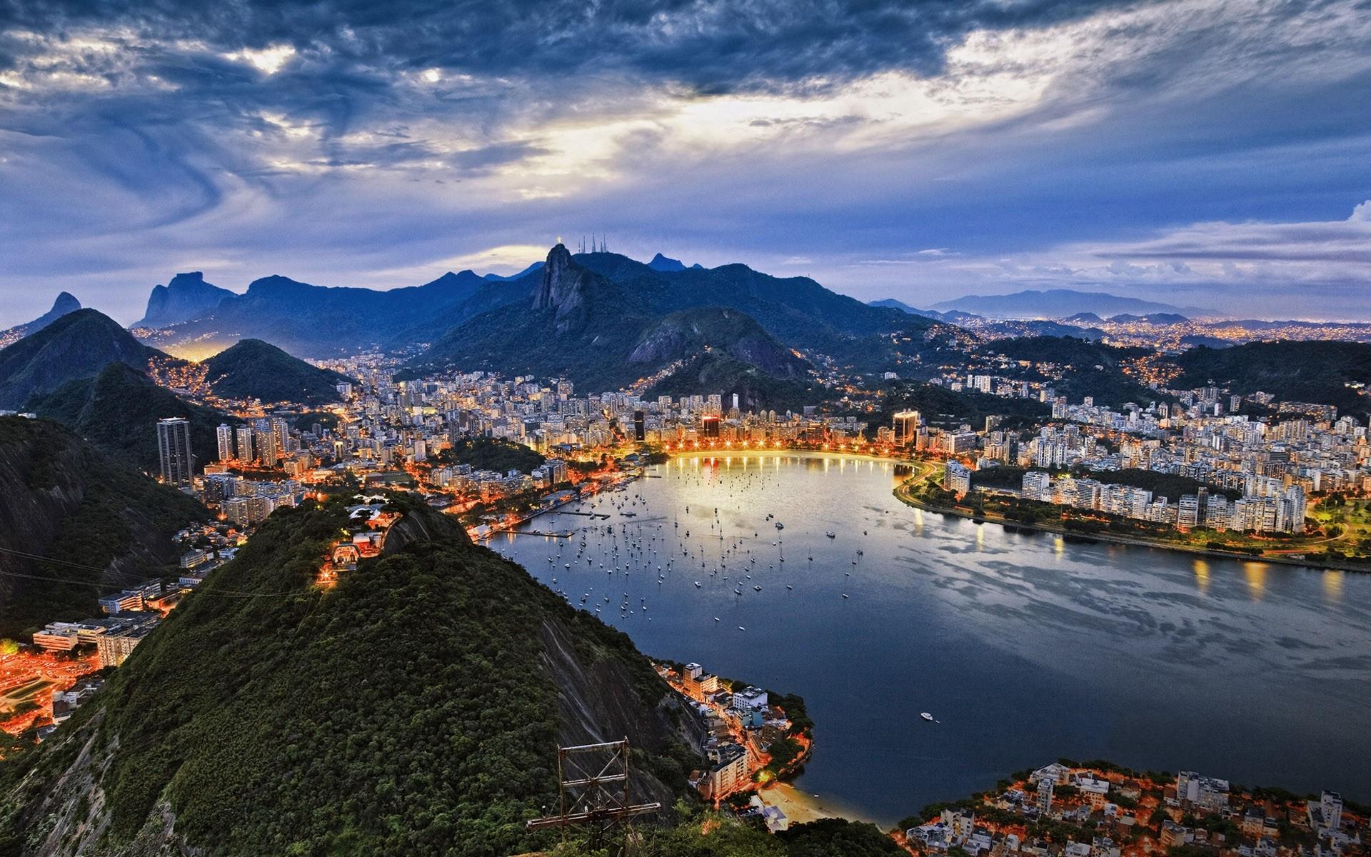 Daily Wallpaper Rio De Janeiro Brazil I Like To Waste My Time 1920x1200