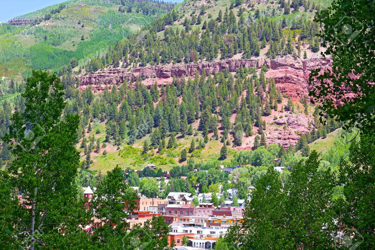Panoramic View On Telluride And Surrounding Mountains Telluride 1300x866