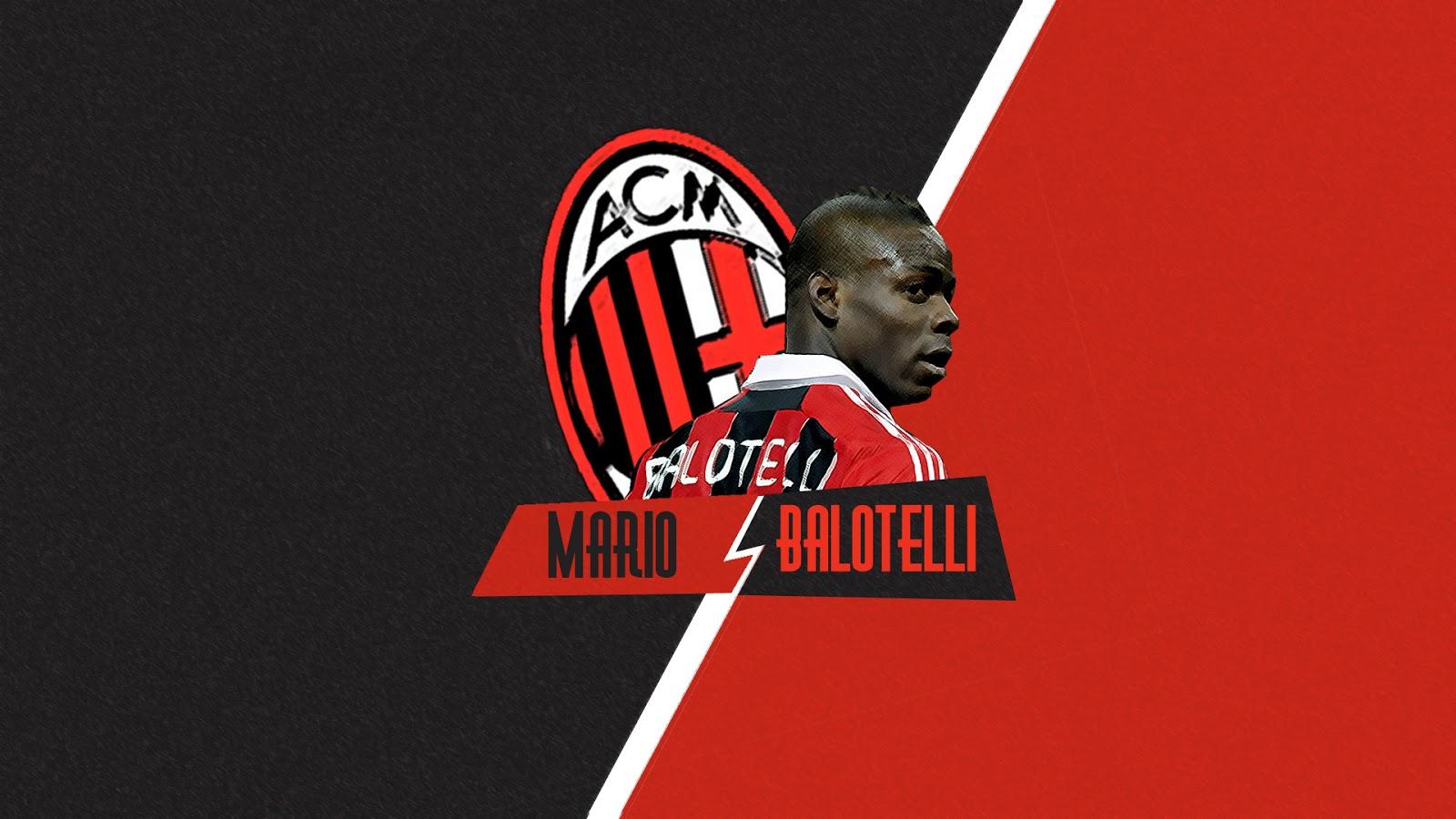 AC Milan Wallpaper   Mario Balotelli 2014 HD Wallpaper for Desktop 1600x900