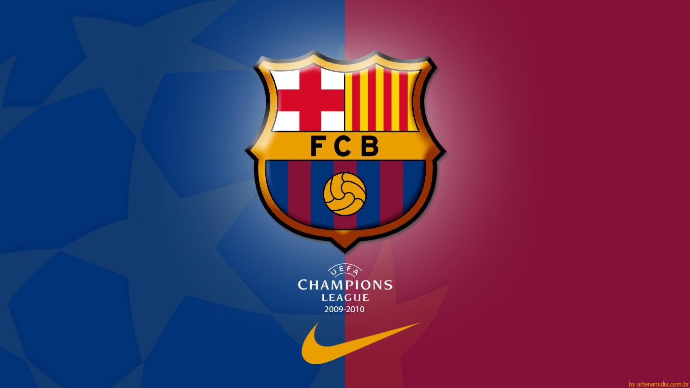 Fc Barcelona   Champions League Wallpaper   FC Barcelona Photo 1366x768