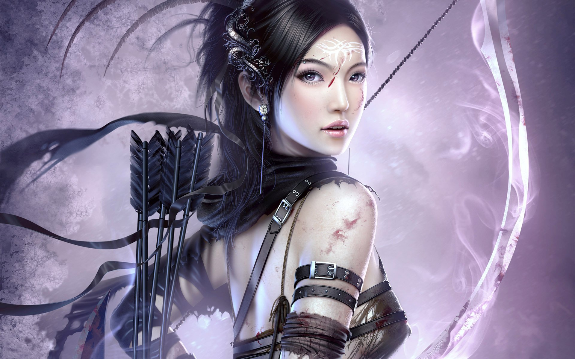 Fantasy Archer Girl Wallpapers HD Wallpapers 1920x1200