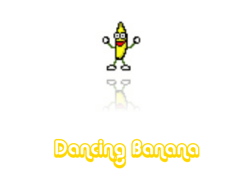 Wallpaper Dancing Banana Stuff 800x600