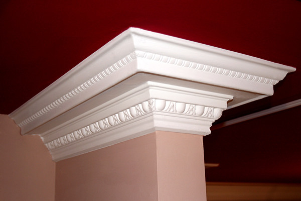DCT Carved Styrofoam Crown Molding 6 in wide 65 ft long wallpaper 600x400