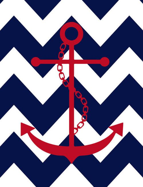 Chevron anchor Anchors Pinterest 500x650