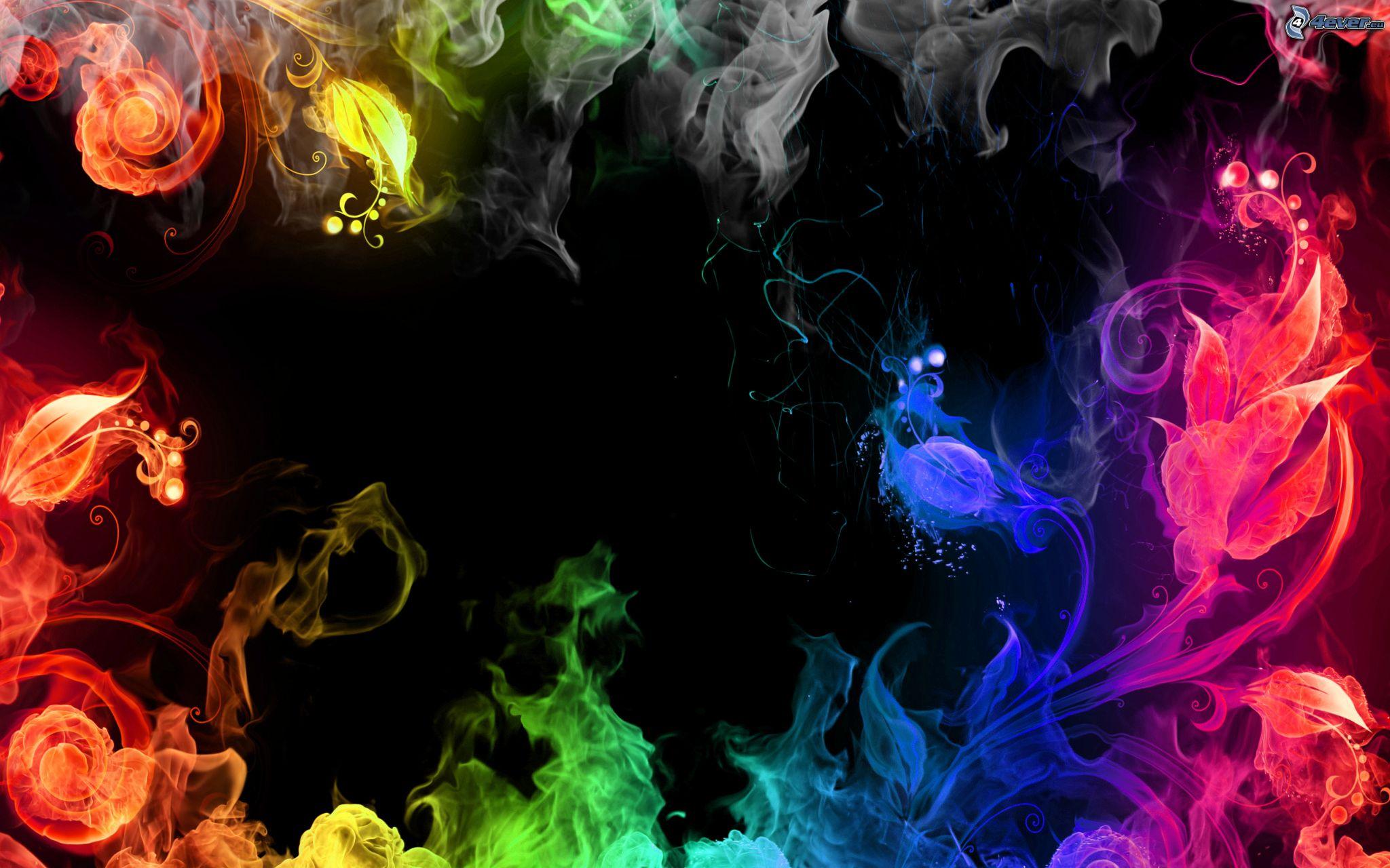 Colored smoke 2048x1280