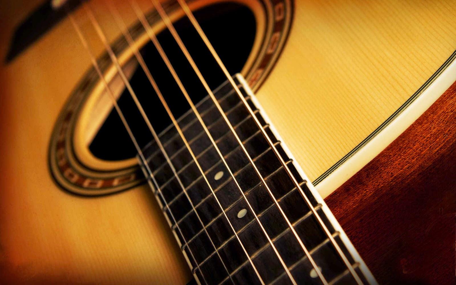 Acoustic Guitar Wallpaper HD - WallpaperSafari