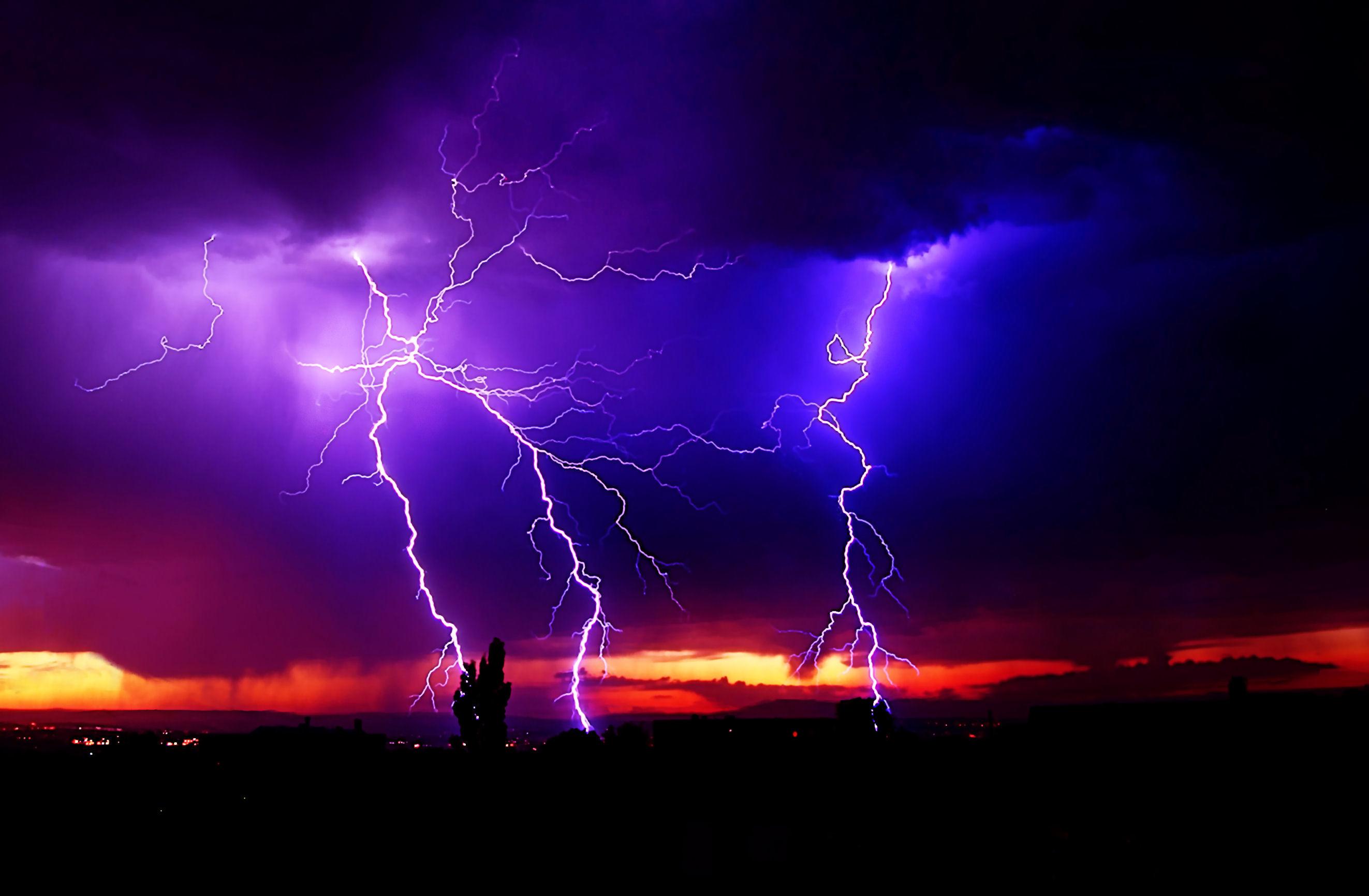 Hd Lightning Storm Wallpaper