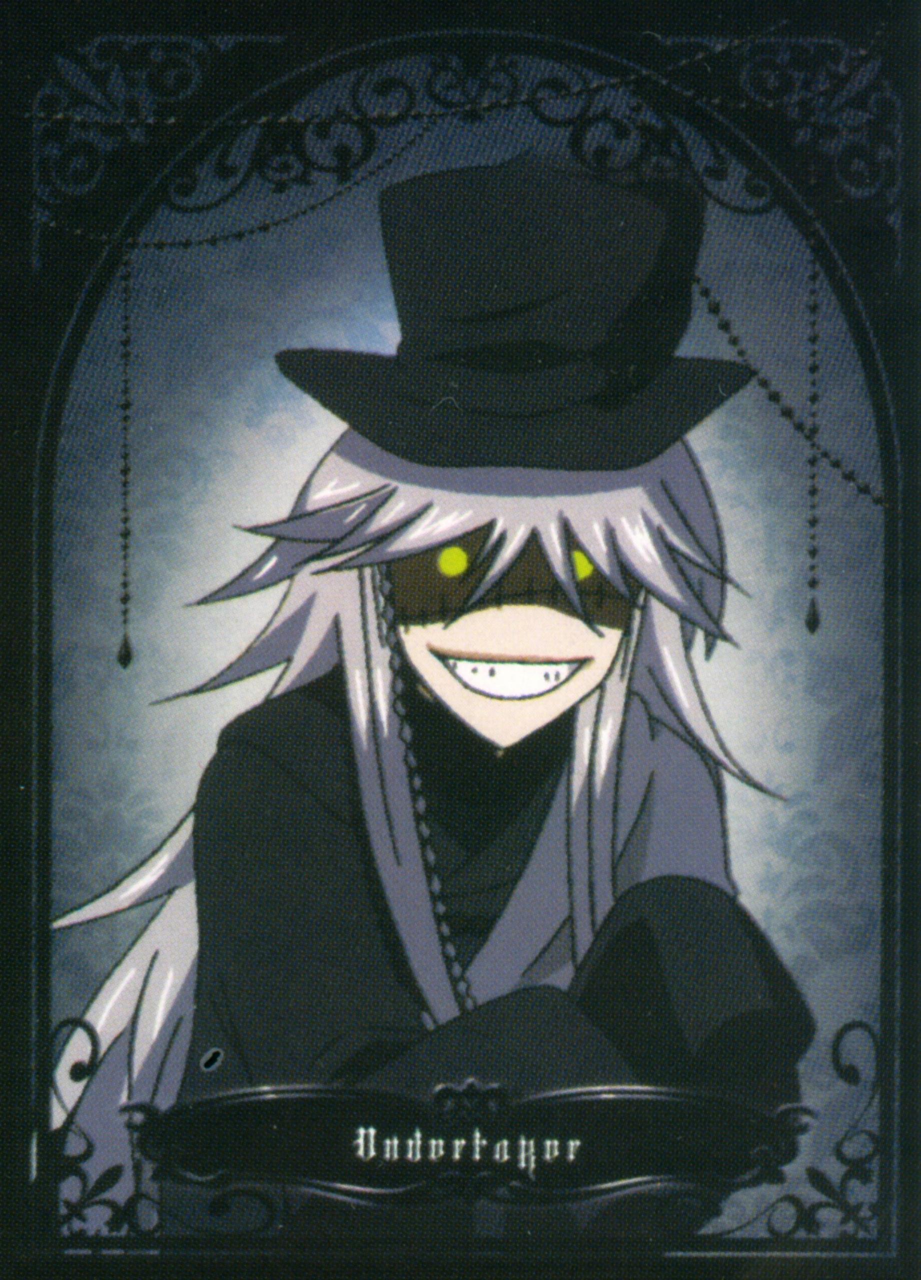Undertaker Wallpaper Black Butler - WallpaperSafari  Undertaker Wall...