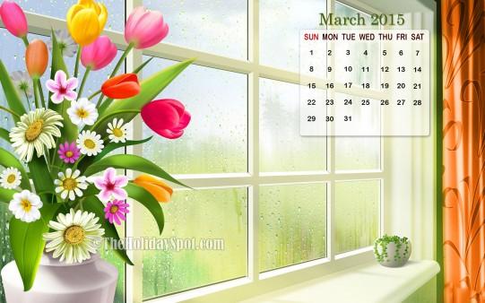March 2015 Calendar Wallpaper New Calendar Template Site 541x338
