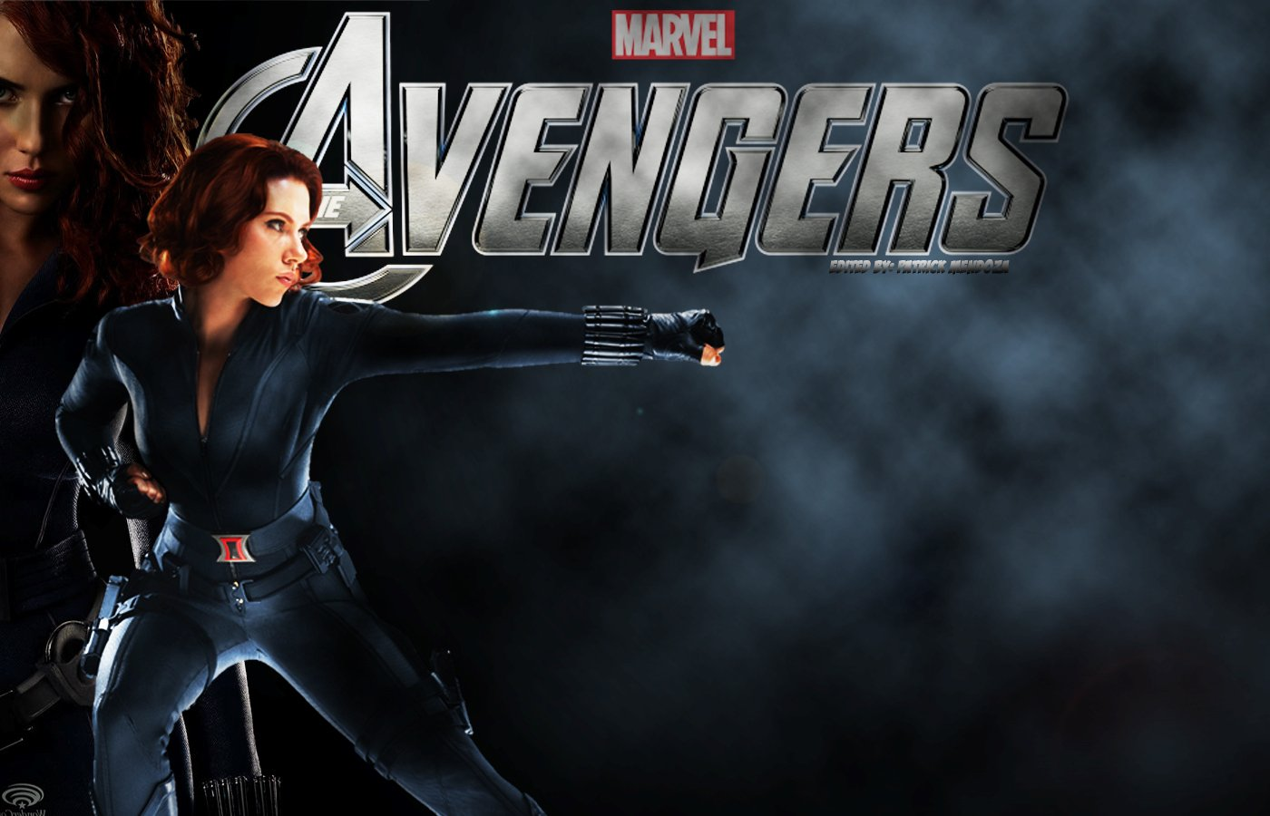 Black Widow Avengers Wallpaper 1400x900