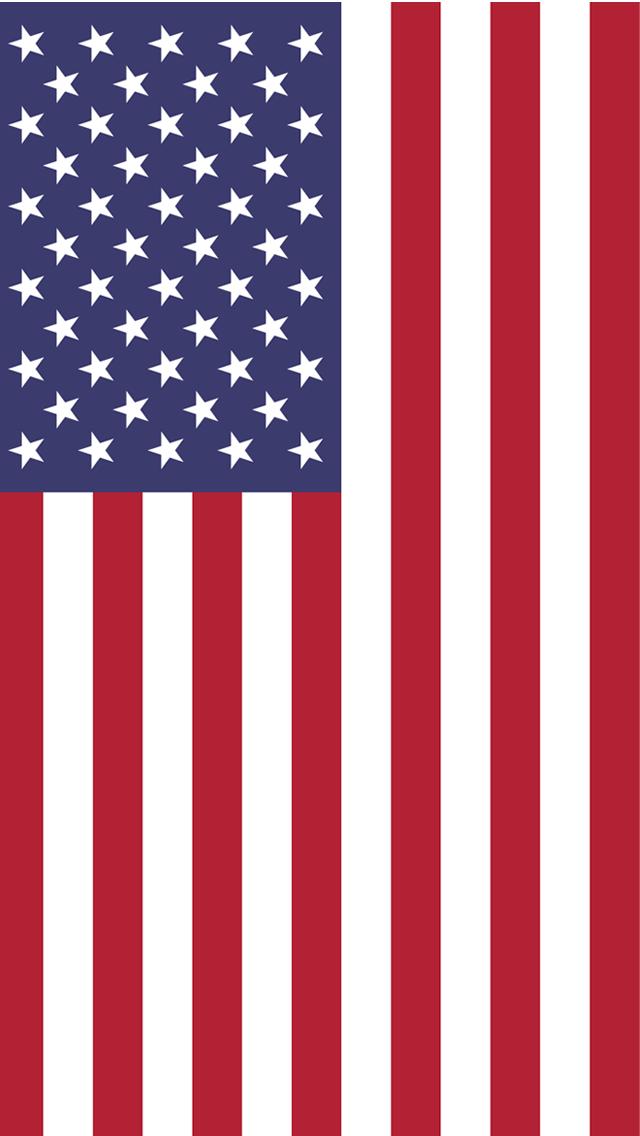 USA Flag iPhone Wallpaper 640x1136