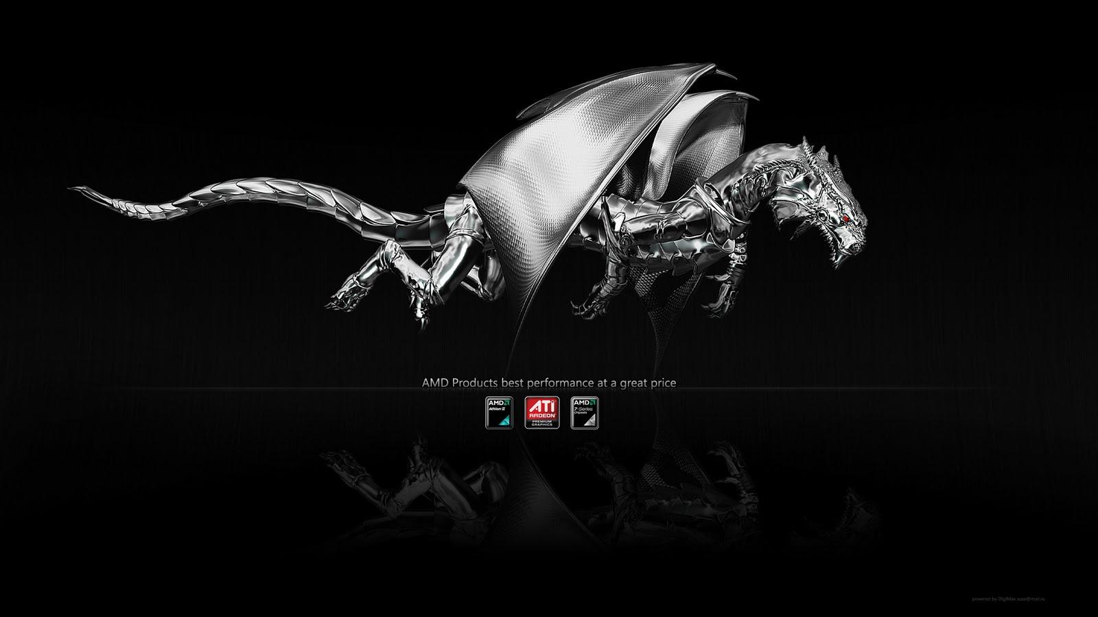 3D Animated Dragon Wallpaper 1600x900