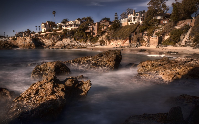 USA California Los Fngeles Laguna Beach Desktop wallpapers 1440x900 1440x900