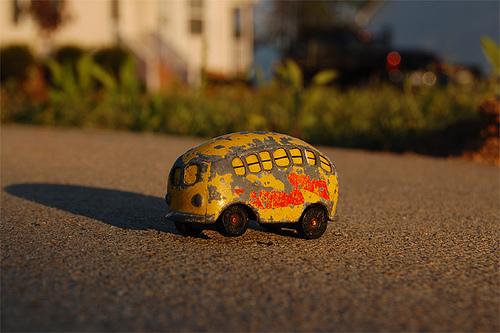 banana bus   driveway Flickr   Photo Sharing 500x333