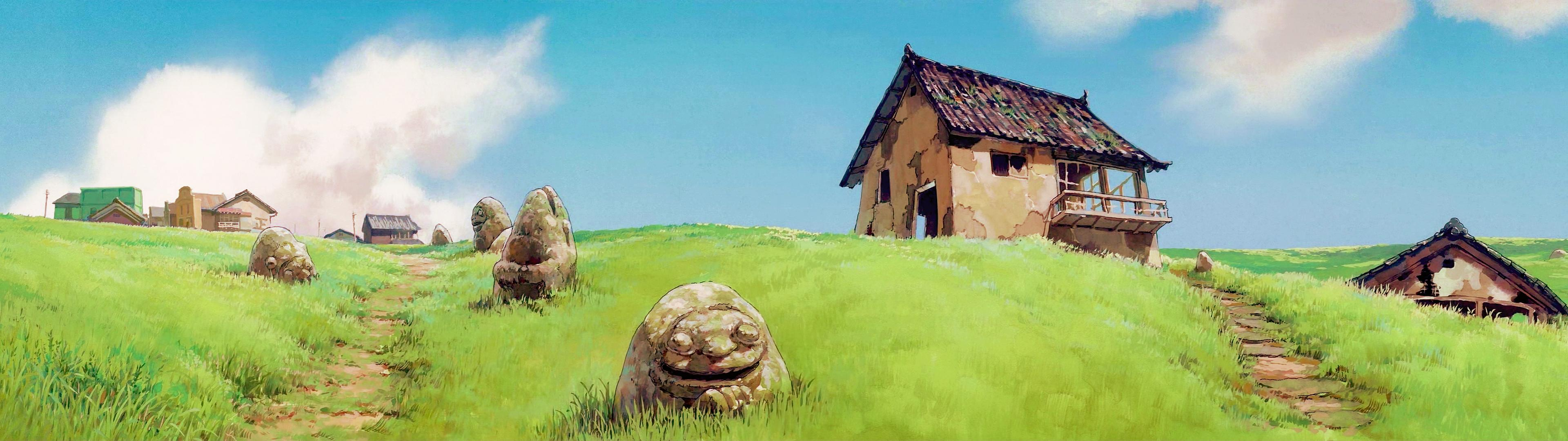 Studio Ghibli 3840 X 1080 Wallpapers   Top Studio Ghibli 3840 3840x1080