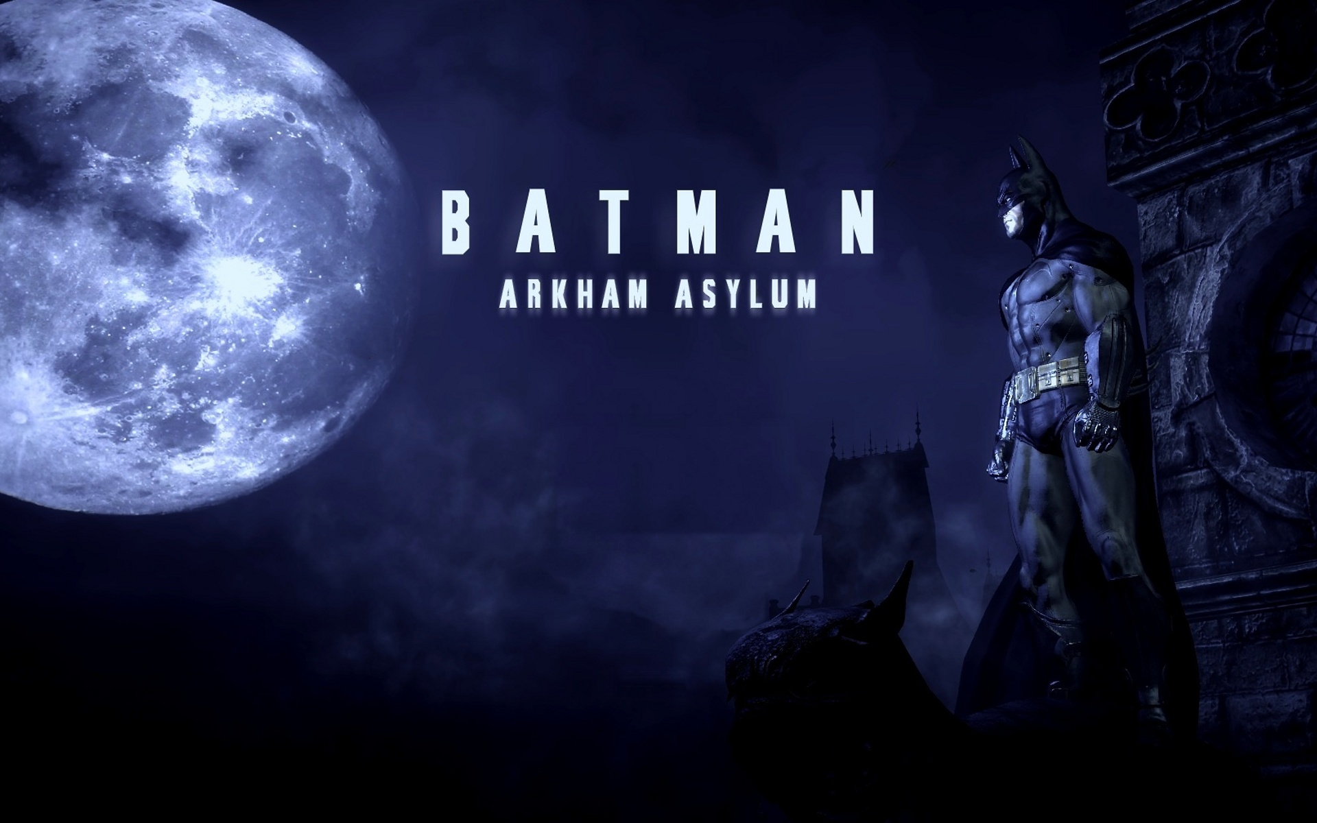 video batman games wallpaper keyword original arkham asylum 1920x1200