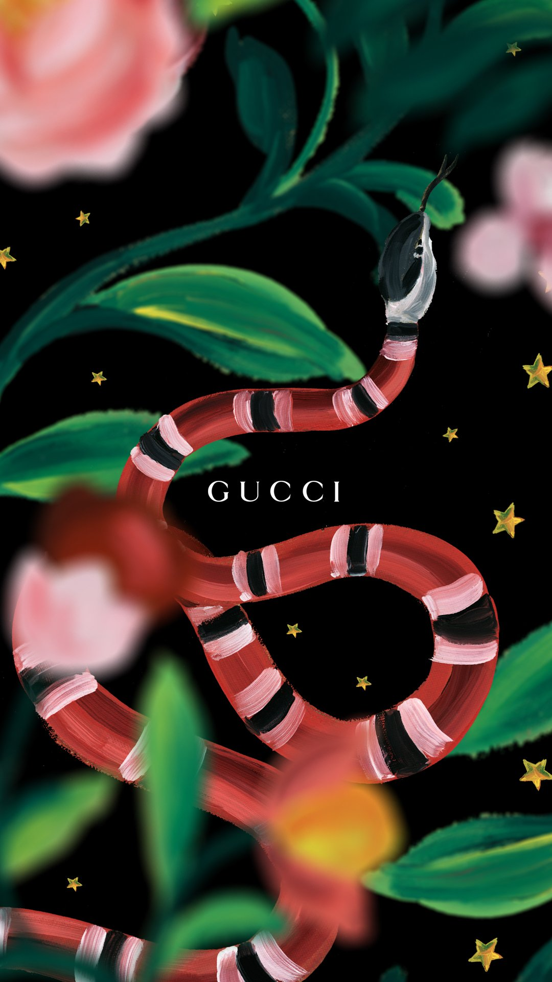 Gucci Snake Wallpaper Wallpapersafari