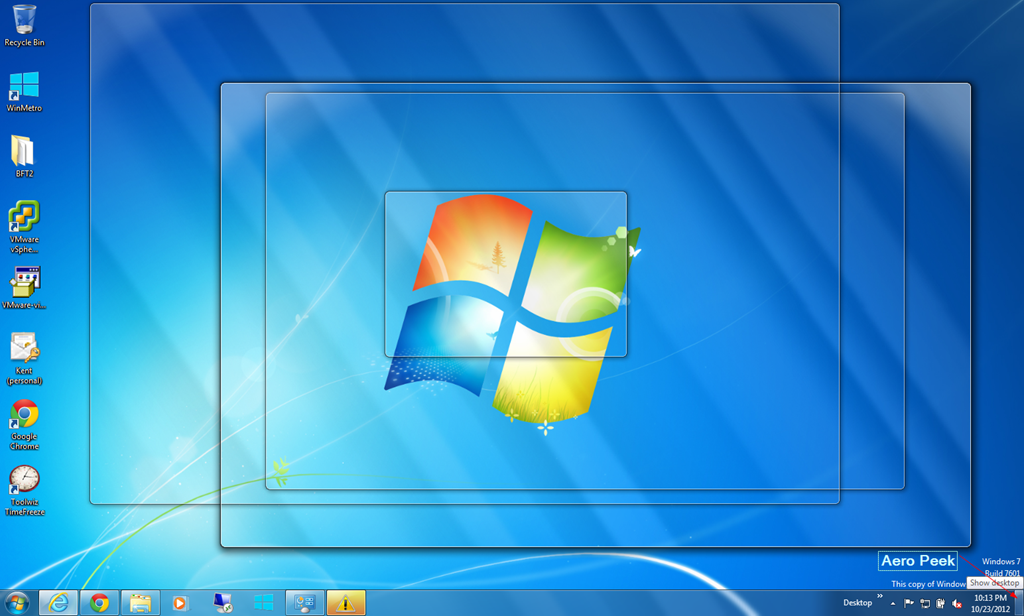 Change Default Windows 7 Aero Peek Hover Delay Time Next of Windows 1024x616