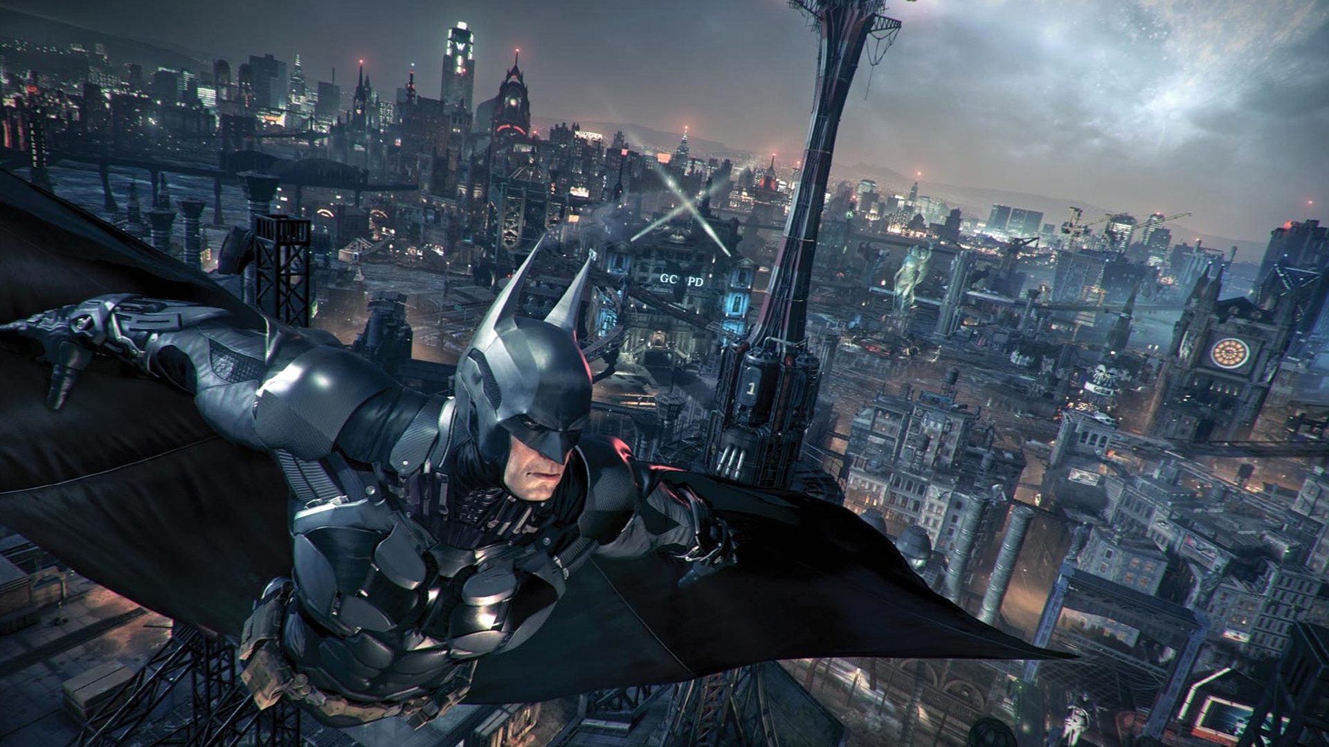 batman arkham knight game hd 1920x1080 1080p wallpaper and compatible 1920x1080