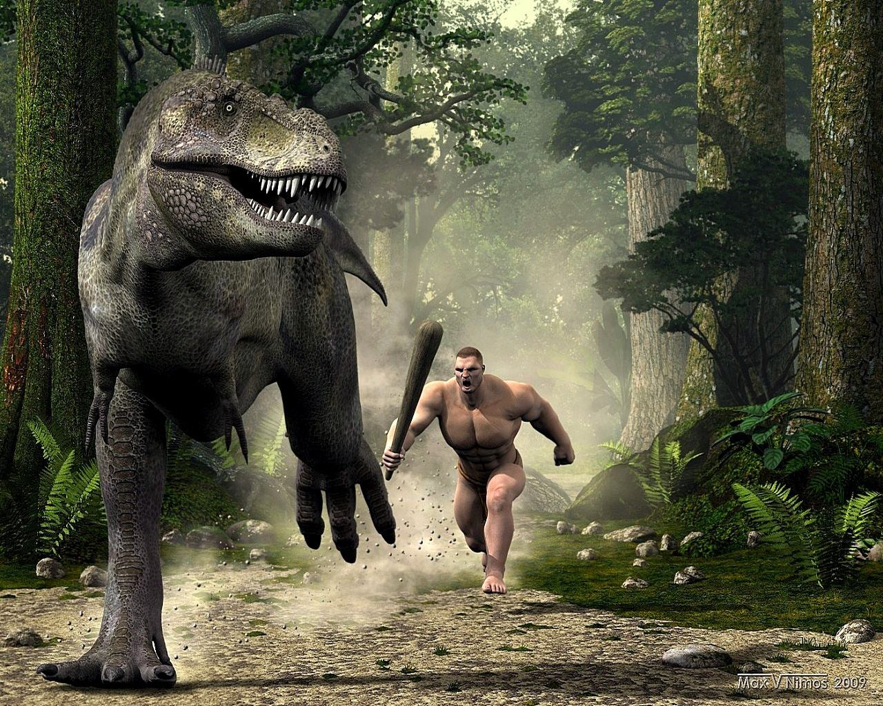 Wallpapers Backgrounds   Picture hunt dinosaur cool pictures Tuning 1280x1024