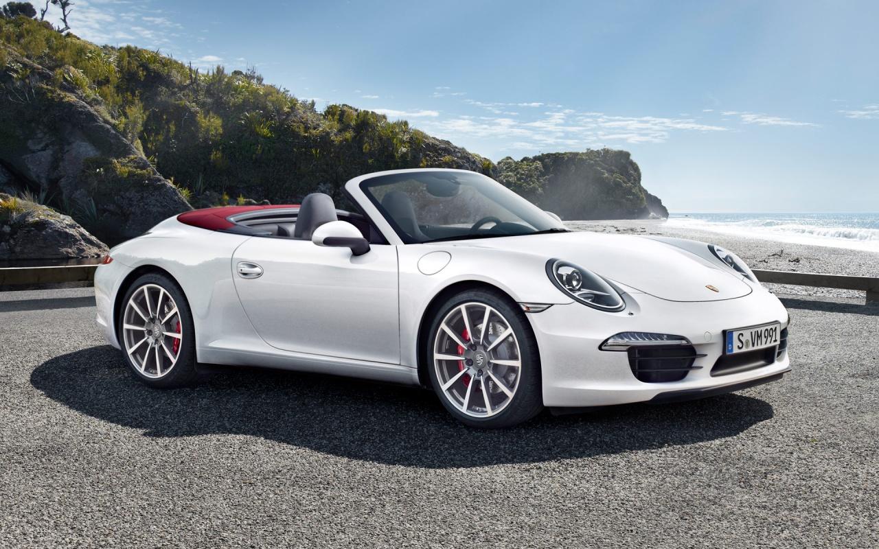 Porsche 911 Carrera Convertib HD Wallpaper Background Images 1280x800