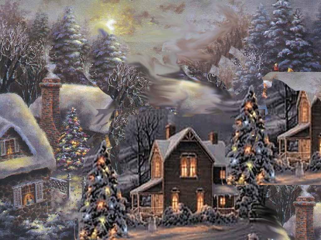 Winter Scenes for Desktop 1024x768