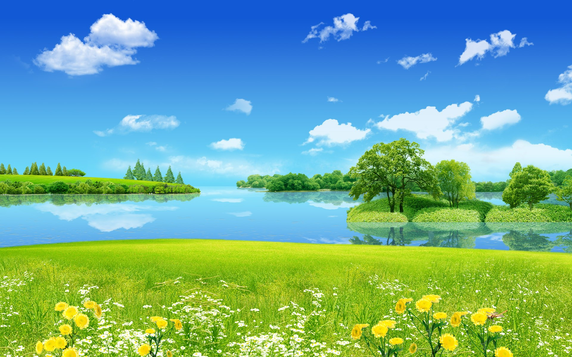 Creative Summer Dreamland Wallpapers HD Wallpapers 1920x1200