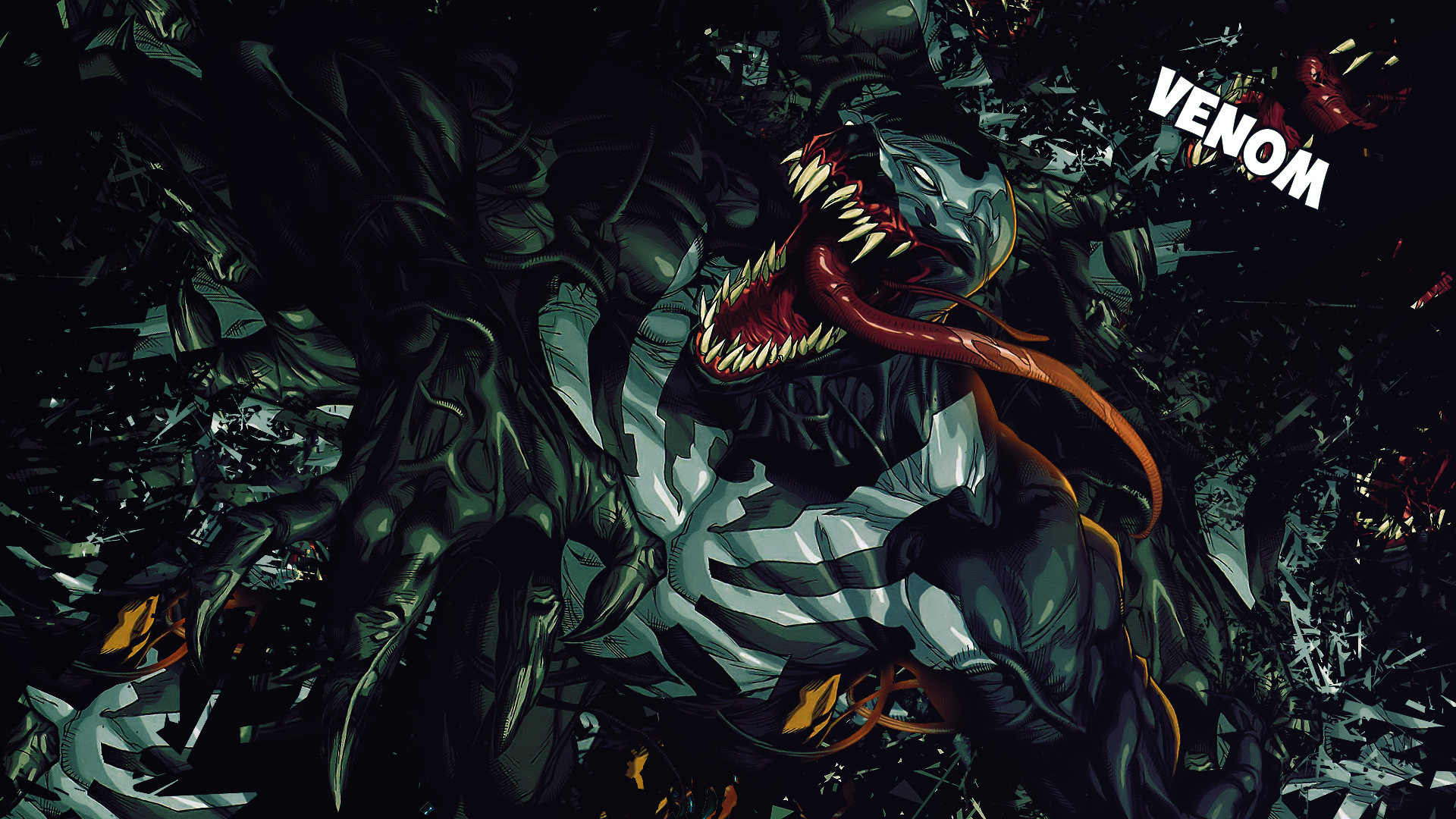 Marvel Venom Wallpaper Hd Wallpapersafari