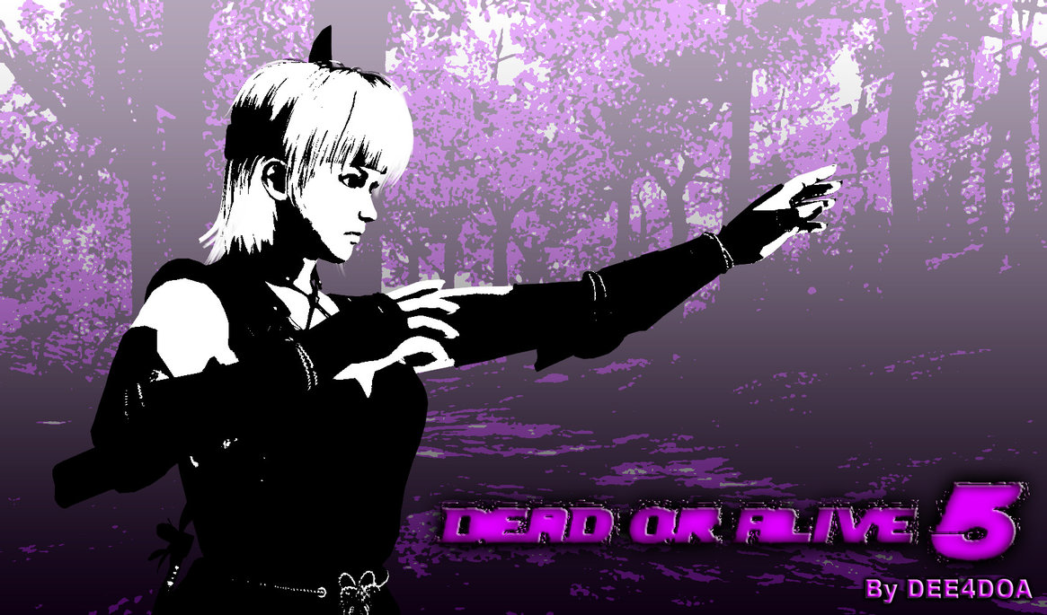 AYANE Dead Or Alive 5 Wallpaper Desktop by Dee4doa 1165x685