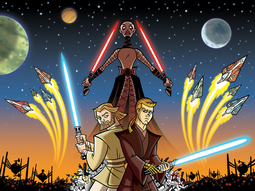 Star Wars The Clone Wars Wallpaper: Animated Star Wars Wallpapers