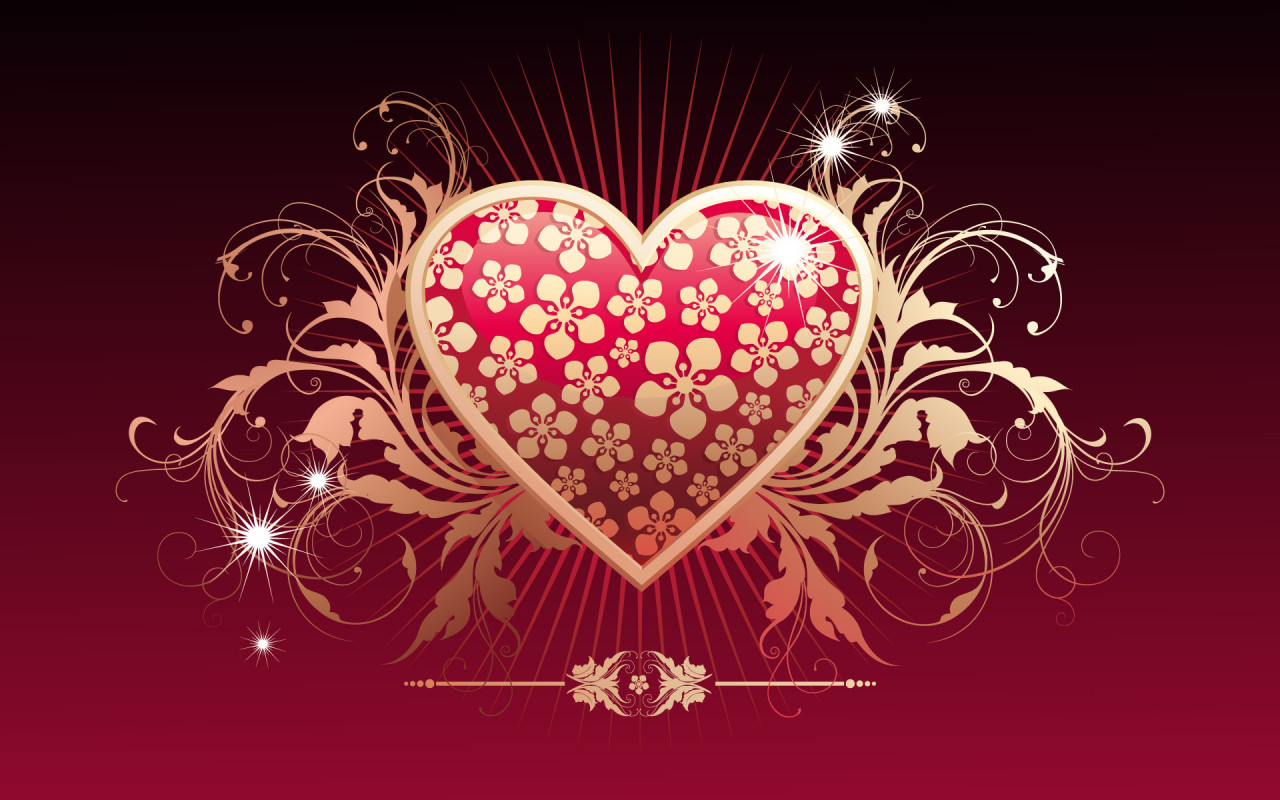 Games Wallpapers Love HEart Wallpapers 1280x800