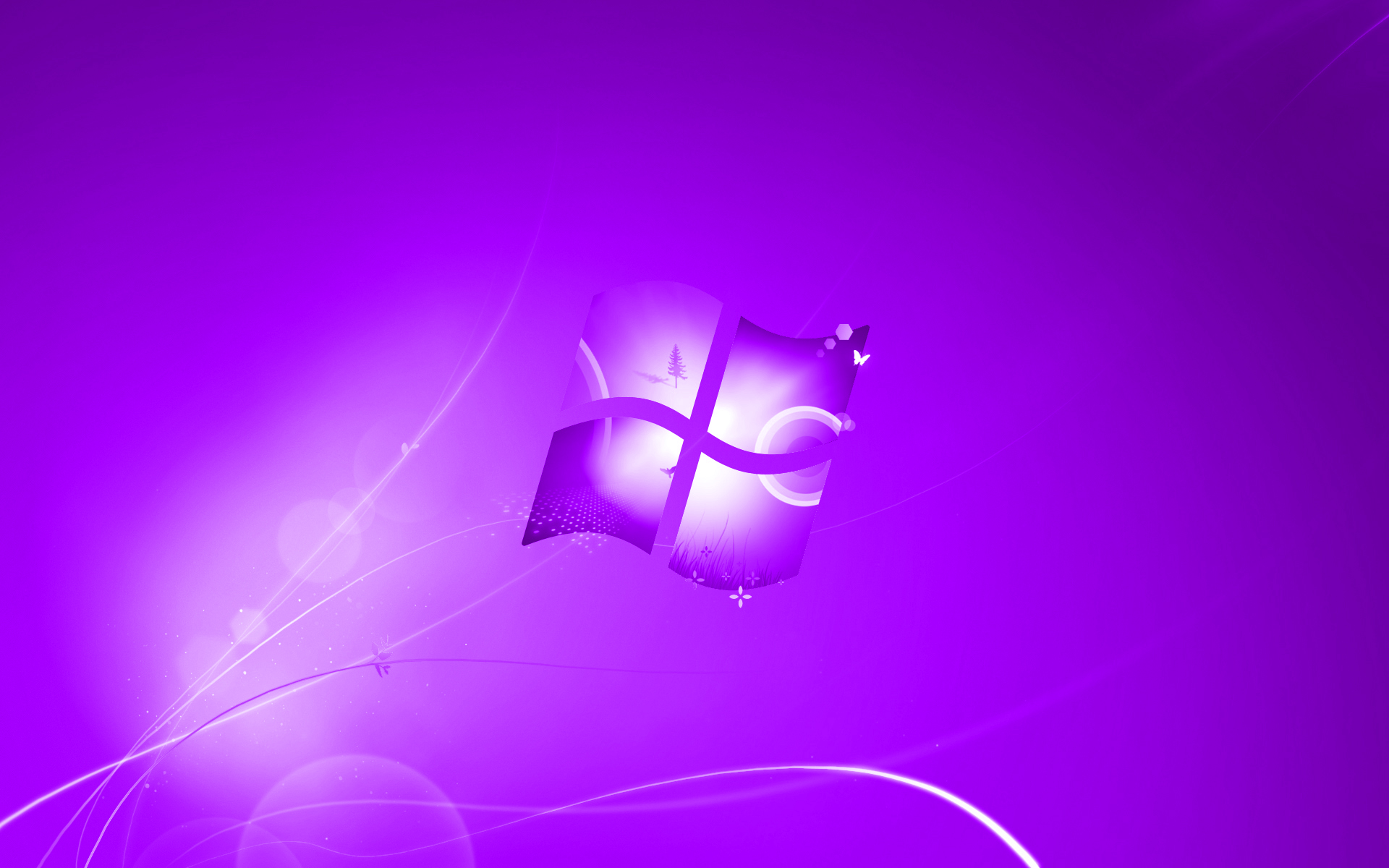Windows 7 Purple Wallpaper Full HD Wallpapers HD 1920x1200