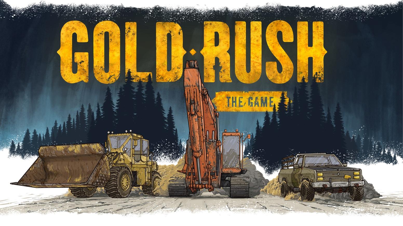 Gold Rush The Game by PlayWay Kickstarter 1552x873
