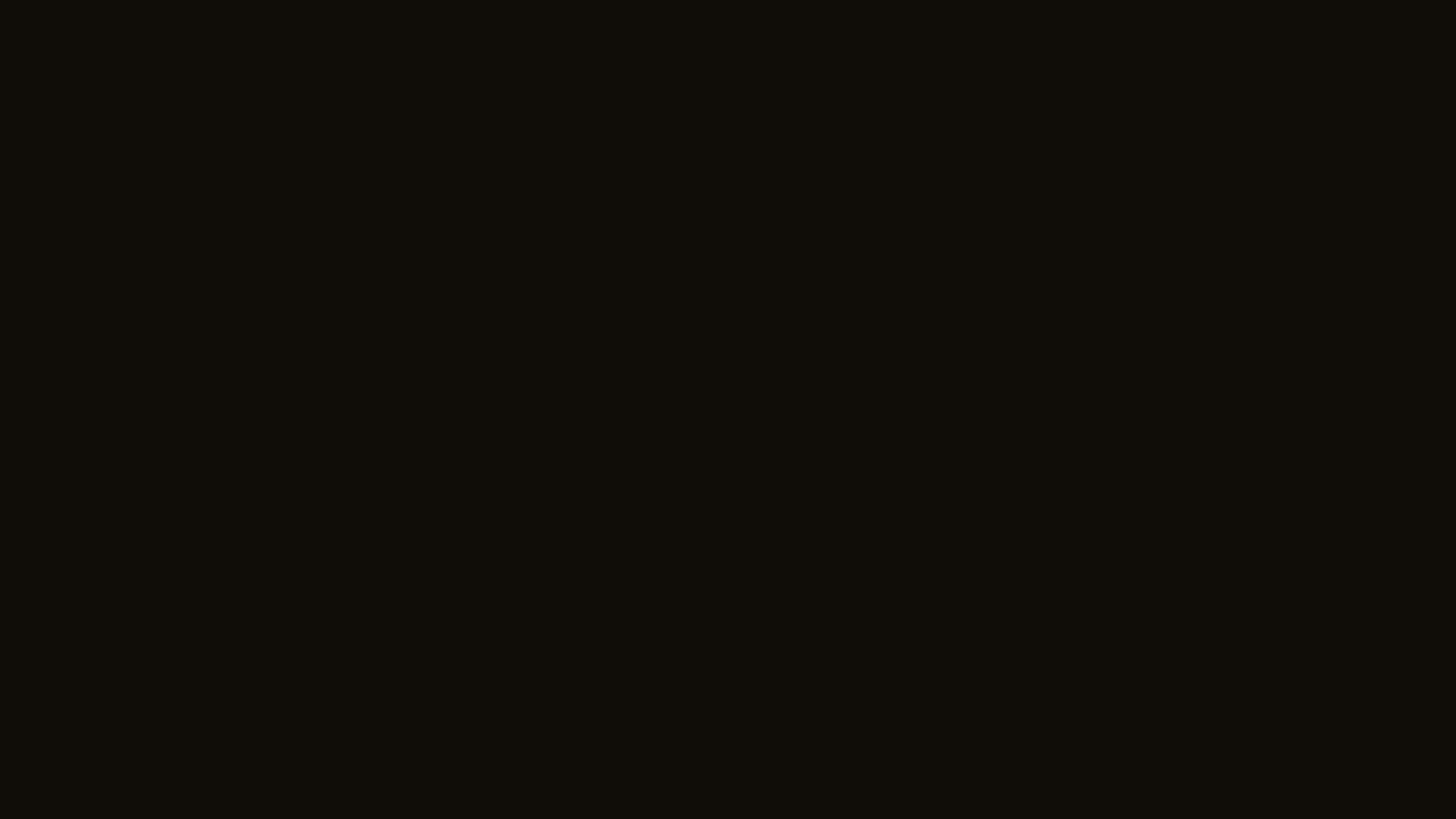 2560x1440 resolution Smoky Black solid color background view and 2560x1440