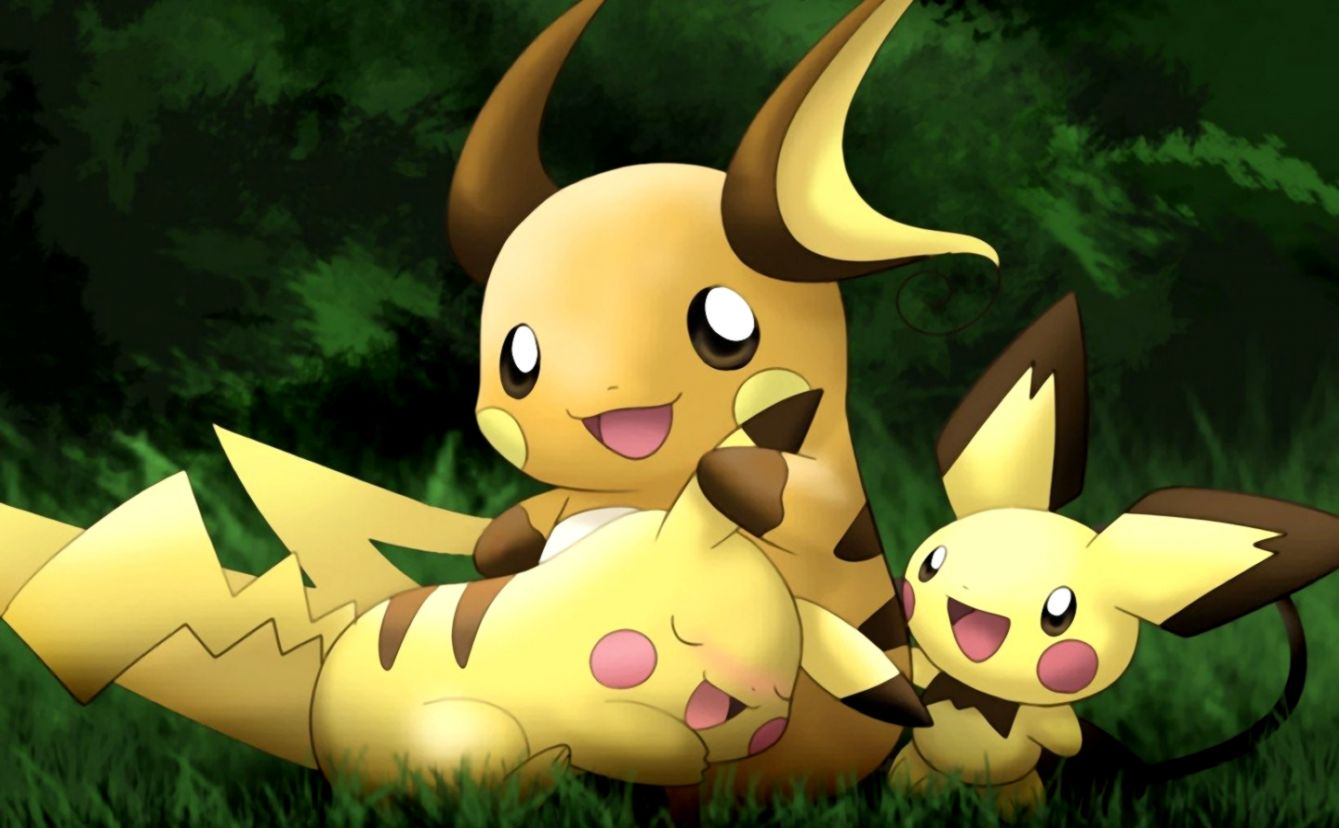 Pikachu Pokemon Cute Couples Hd Wallpaper All in One Wallpapers 1339x828