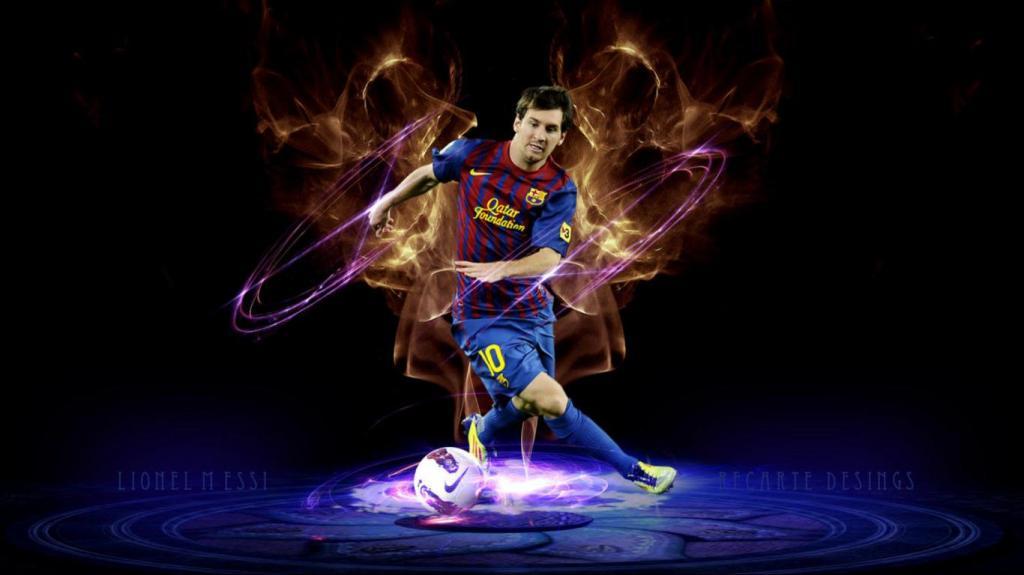 Lionel Messi HD Wallpaper Download 1024x575