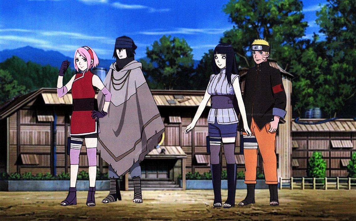 Sasuke And Hinata Wallpaper Wallpapersafari