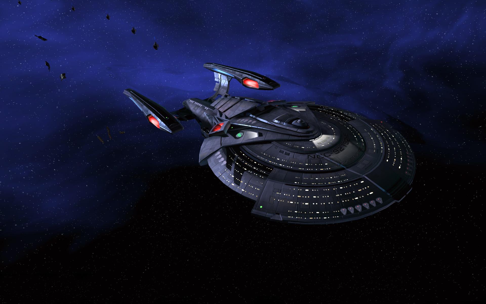 Movies Screen Saver Voyager Trek Widescreen Star wallpapers HD 1920x1200