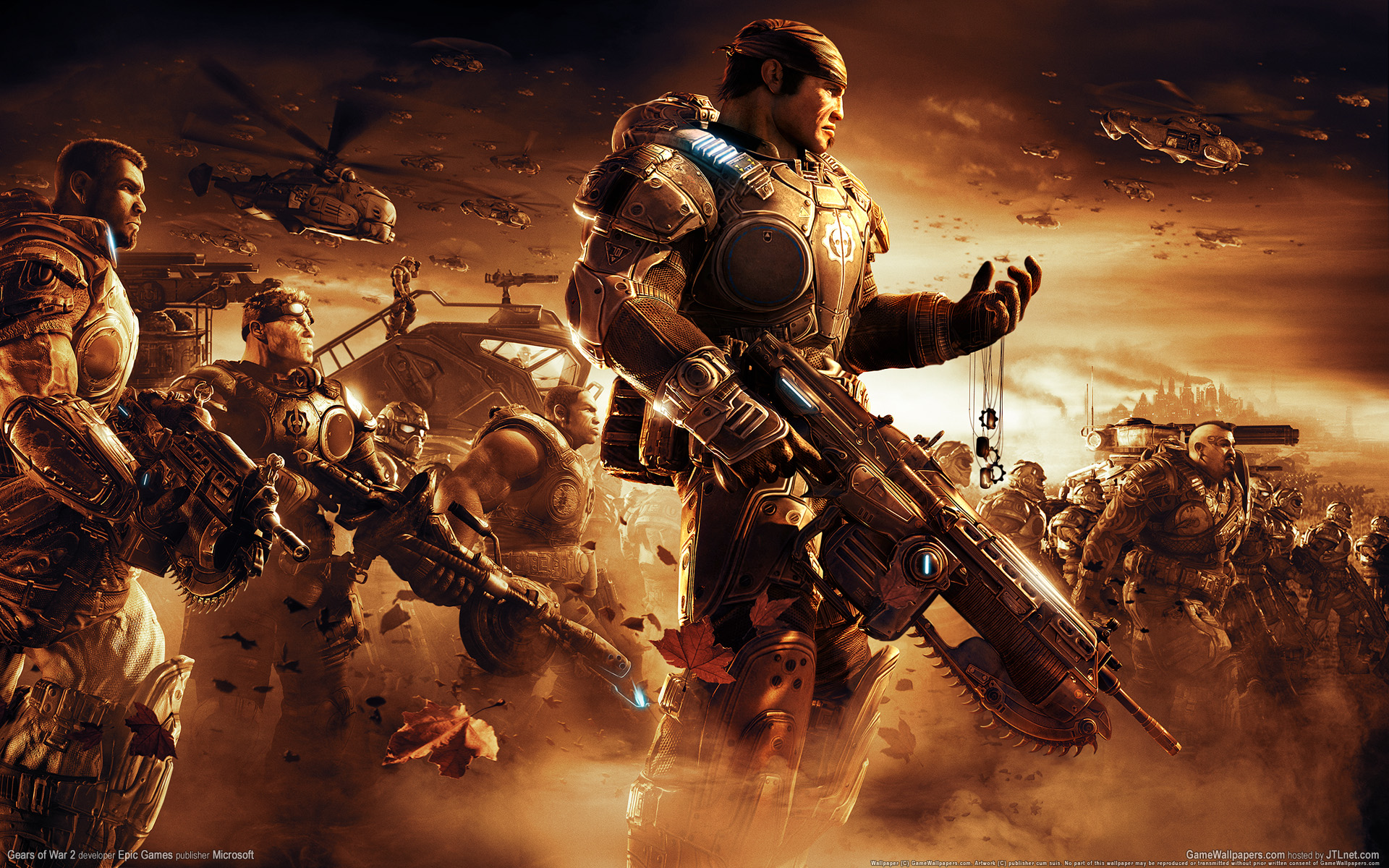 22 Awesome 3D Game Wallpapers Gears of War   Downloads 1920x1200