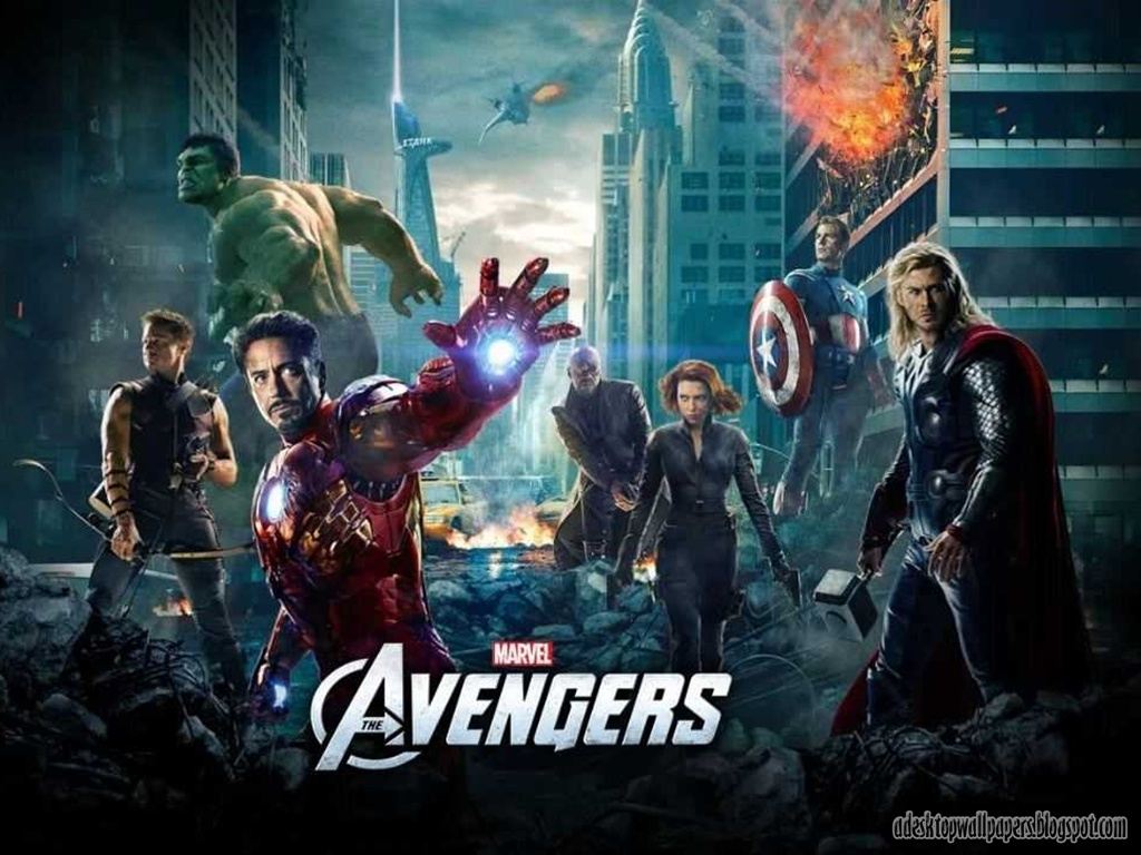 The Avengers 2012 Movie Desktop Wallpapers 1024x768