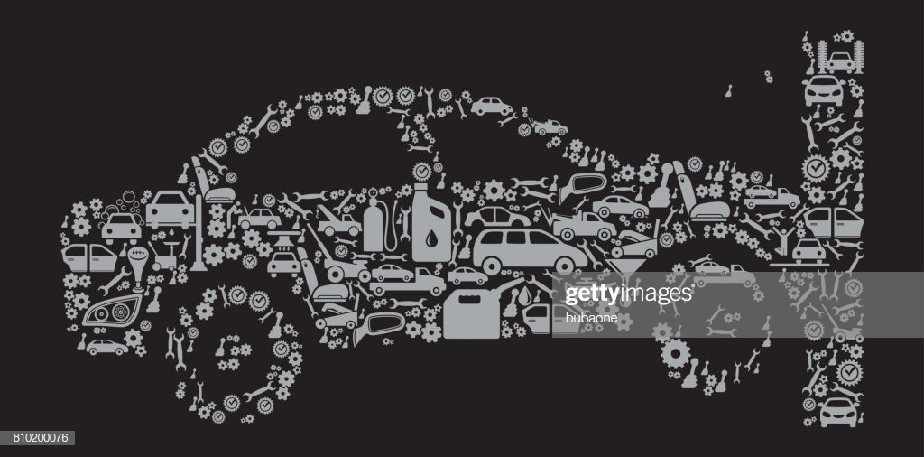 Car Crash Auto Repair Cars And Automotive Vector Icon Background 1024x506