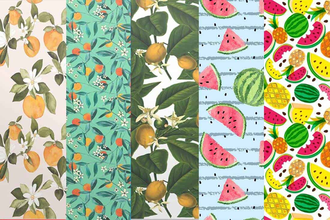 14 fruit wallpapers you will love 1100x733