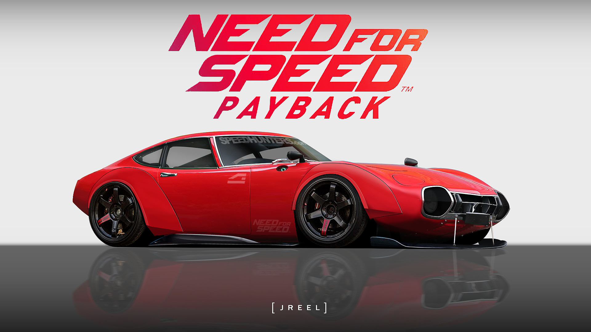 ArtStation   Toyota 2000GT Need for Speed Payback 1920x1080