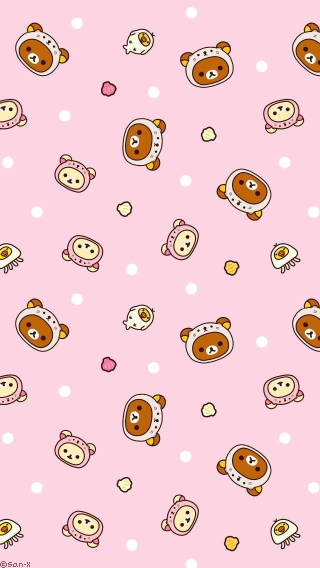rilakkuma wallpaper uploaded by rinn on We Heart It 640x1136