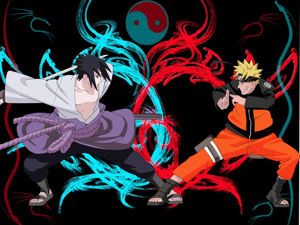 Sasuke and naruto wallpaper wallpapersafari - Naruto as sasuke ...